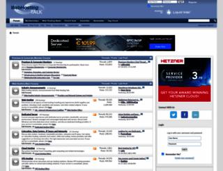 webhostingtalk.com screenshot