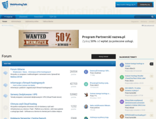 webhostingtalk.pl screenshot
