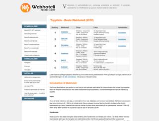 webhotelltester.com screenshot