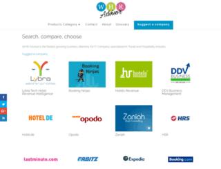 webhotelrevenue.com screenshot