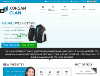 webi.korsan-clan.com screenshot