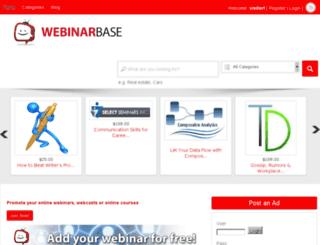 webinarbase.com screenshot