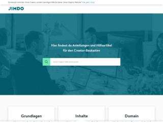 webinare-de.jimdo.com screenshot