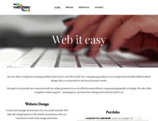 webiteasy.com.au screenshot