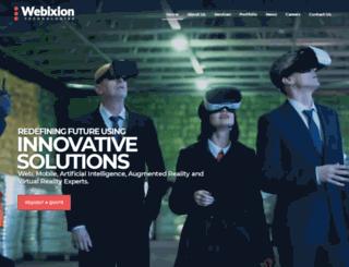 webixion.com screenshot