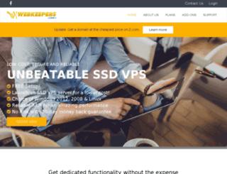 webkeepers.com screenshot