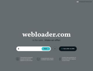 webloader.com screenshot