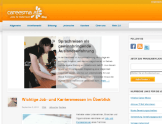 weblog.careesma.at screenshot