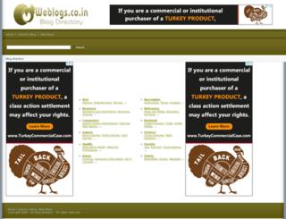 weblogs.co.in screenshot