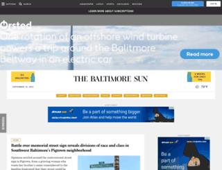 weblogs.marylandweather.com screenshot