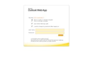 webmail.amaze.com screenshot