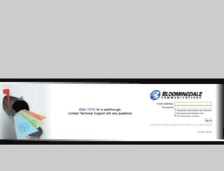 webmail.bloomingdalecom.net screenshot