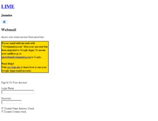 webmail.cwjamaica.com screenshot