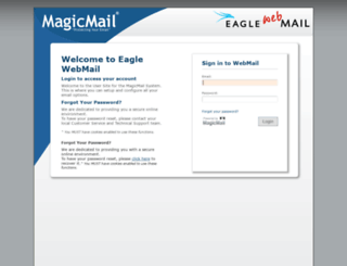 webmail.eaglecom.net screenshot