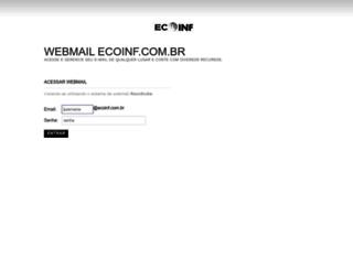 webmail.ecoinf.com.br screenshot
