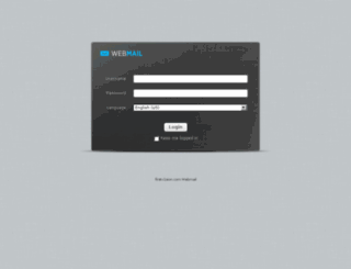 webmail.firstv1sion.com screenshot