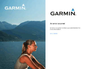 webmail.garmin.com screenshot
