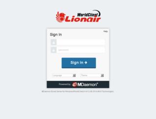 webmail.harian-nasional.com screenshot