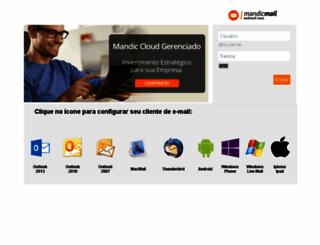 webmail.iis.com.br screenshot