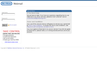 webmail.nethere.net screenshot