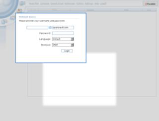 webmail.sparqvault.com screenshot