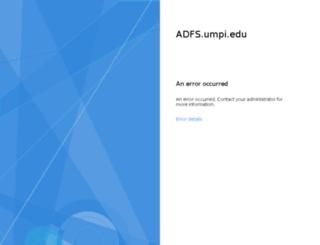webmail.umpi.edu screenshot