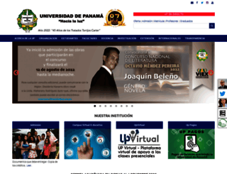 webmail.up.ac.pa screenshot
