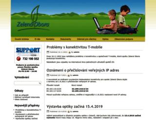webmail.zelenec.org screenshot
