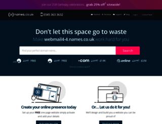 webmail4-4.names.co.uk screenshot
