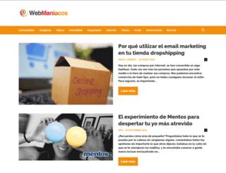 webmaniacos.com screenshot
