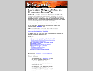 webmanila.com screenshot
