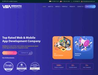 webmantratech.com screenshot
