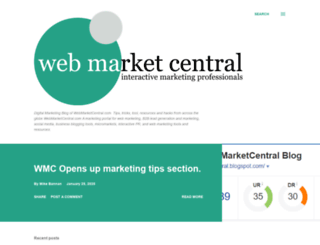 webmarketcentral.blogspot.com screenshot