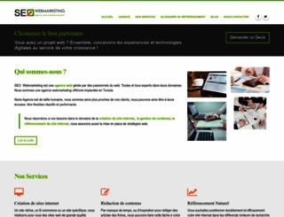 webmarketing-seo.fr screenshot