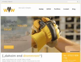 webmarketing-waldmann.de screenshot