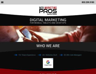 webmarketingpros.com screenshot