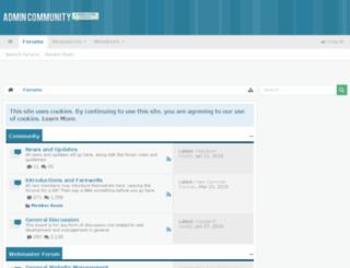 webmasterbb.org screenshot