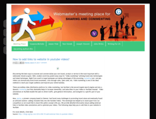 webmasters-spot.blogspot.in screenshot