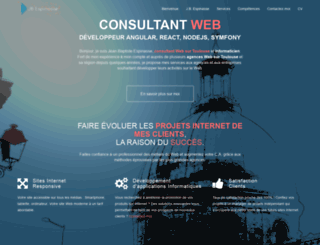 webmastertoulouse.com screenshot
