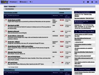 webmasterworld.com screenshot