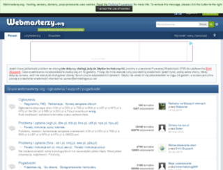 webmasterzy.org screenshot