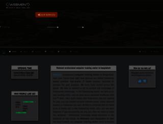 webmentbd.com screenshot