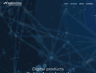 webmotion.bg screenshot