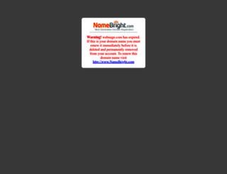 webnage.com screenshot