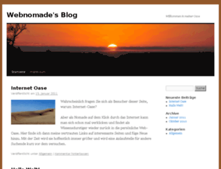 webnomade.wordpress.com screenshot