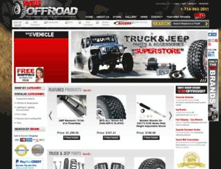 weboffroad.com screenshot