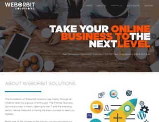 weborbitsolutions.com screenshot