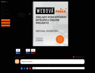 webovarezie.cz screenshot