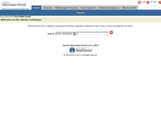 webpac.westlothian.org.uk screenshot