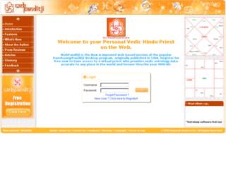 webpanditji.com screenshot